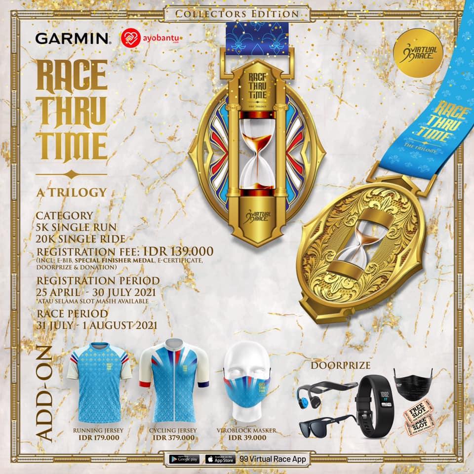 Race Thru Time - A Trilogy ! Seri I: Speed - The Hourglass • 2021