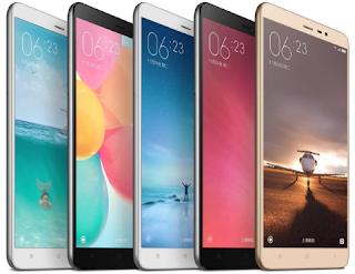 50 Daftar HP Xiaomi Spesifikasi dan Harga terbaru 2018