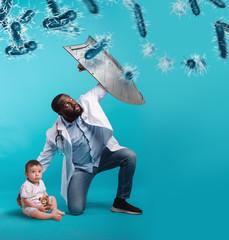 نسبة الخطر من فيرس كورونا للاطفال وماهى طرق الوقاية