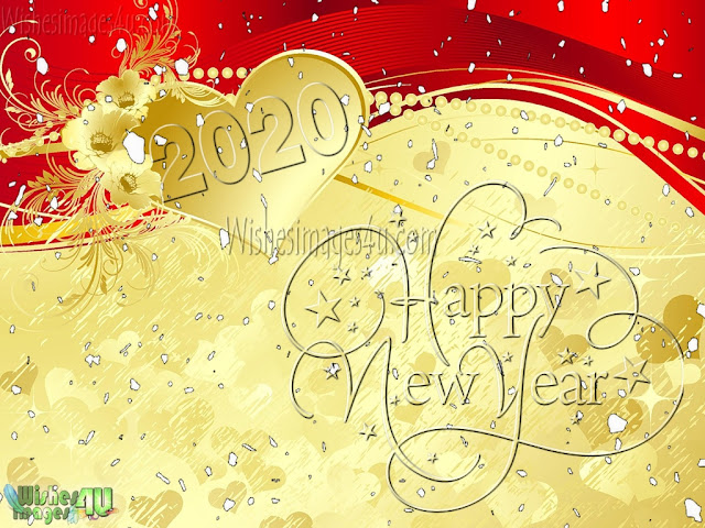 New Year 2020 Golden HD Images