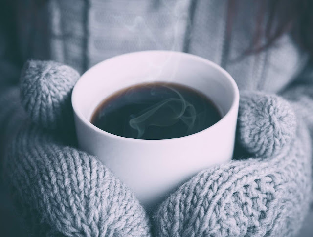 Hot Coffee on a Cold Day via Unsplash