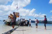 ACT NTB Salurkan Bantuan 175 Paket Sembako dipulau terluar Lombok