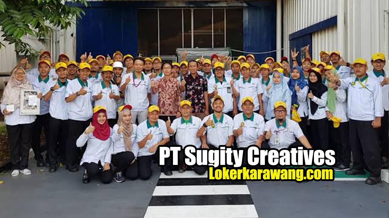 PT Sugity Creatives Karawang