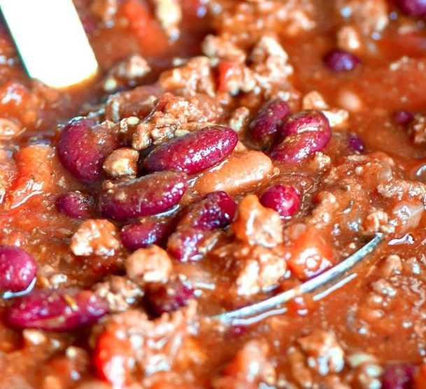 THE ULTIMATE CROCKPOT CHILI RECIPE #dinner #healthy