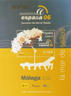 EXPOSICIÓN MUNDIAL DE FILATÉLIA 2006