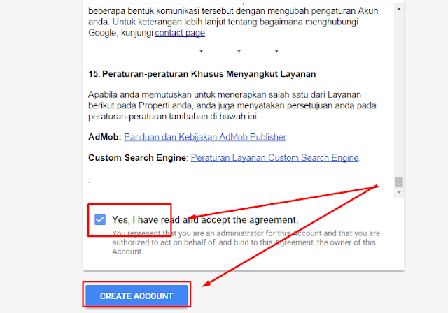 cara daftar google adsense melalui hp