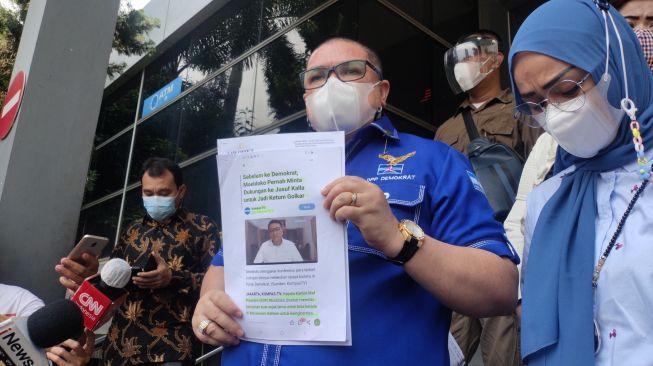 Laporan Pengacara Kubu Moeldoko Tak Diterima Polda Metro Jaya, Ini Alasannya