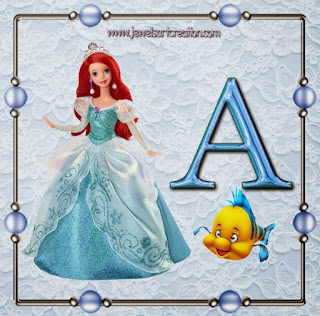 Ariel Barbie Abc. Letras de Ariel Barbie.