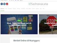 Sastra Wacana - Website Seputar Ilmu Sastra dan Umum Di Era Digital