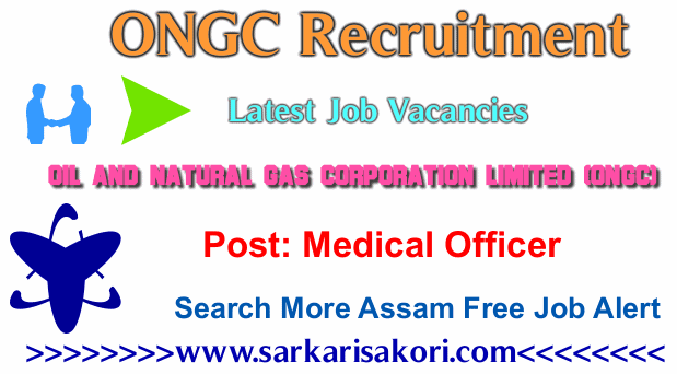 ONGC Recruitment 2017 Medical Officer (Field Duty & General Duty)