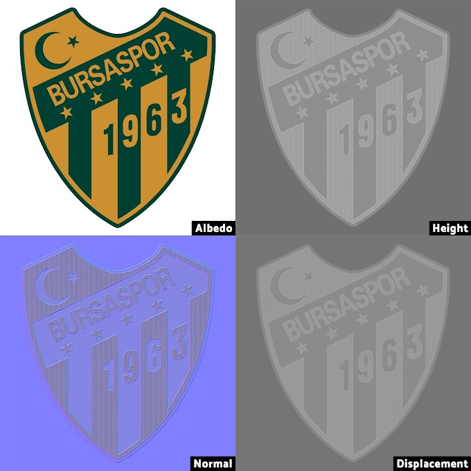 How to add a Displacement Map to a logo or crest on your Marvelous Designer/Clo3d designs using Blender