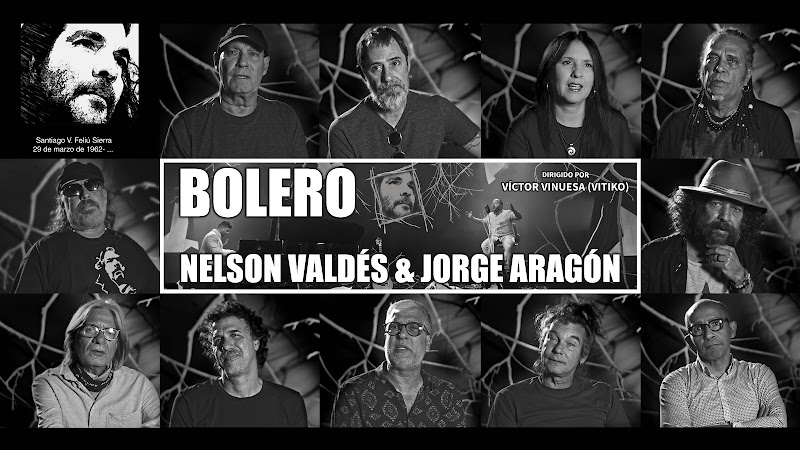 Nelson Valdés & Jorge Aragón - ¨Bolero¨ (Homenaje a Santiago Feliú) - Videoclip - Director: Víctor Vinuesa Vitiko. Portal Del Vídeo Clip Cubano