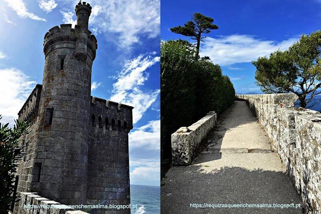 FORTALEZA DE BAIONA, Torre do Relógio da Fortaleza