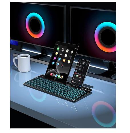 Seenda Multi-Device Bluetooth Backlit Keyboard