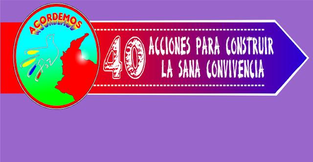 40 ACCIONES POR LA PAZ