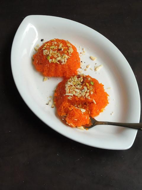 Mawa Carrot Barfi