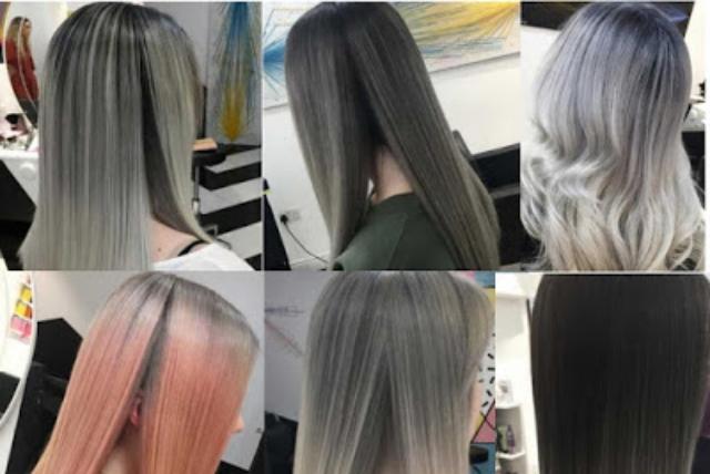 7 Tren Warna Rambut Grey (Abu-Abu) Wanita 2019