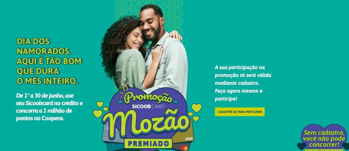 MOZÃO PREMIADO Promoção SICOOBCARD Dia dos Namorados 2021