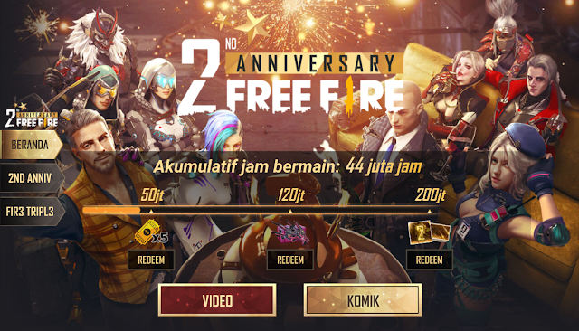 Cara Bermain Anniversary Web Event Lolipop Task Force Free Fire