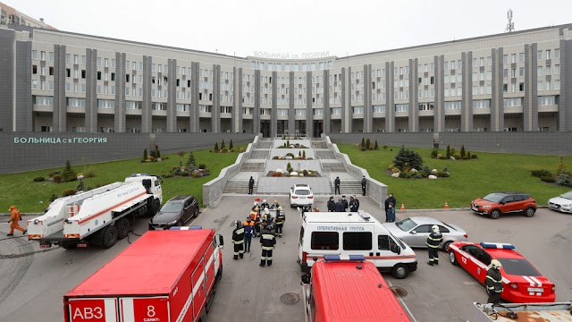 Russia suspends the use of ventilators implicated in hospital fires