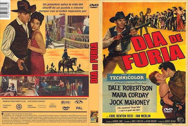 Carátula ☑️ Descargar: Un día de furia (1956) A Day of Fury - Online