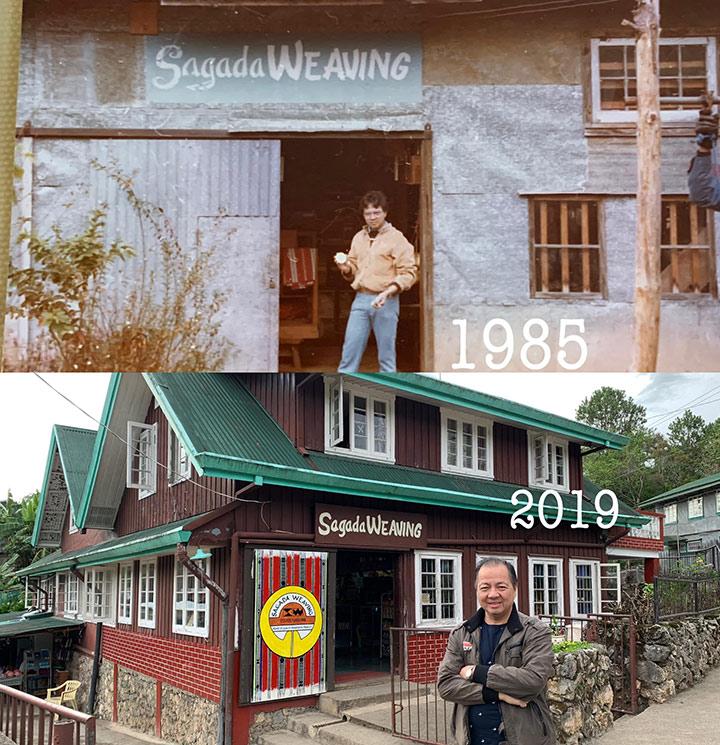 Guy duplicates Sagada road trip 34 years apart