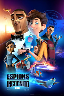 Spies in Disguise 2019 Dual Audio ORG 1080p BluRay