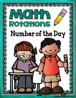 Number of the Day is a great rotation to begin your math block.