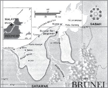 Letak Geografis dan Astronomis Brunei Darussalam, Iklim, Bentang Alam, Bentuk Pemerintahan, Keadaan Ekonomi Sosial Budaya serta Luas dan Batas Wilayah Negara Brunei Darussalam