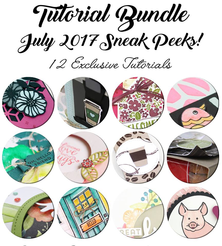 July International Tutorial Bundle