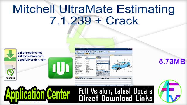 Mitchell UltraMate Estimating 7.1.239 + Crack