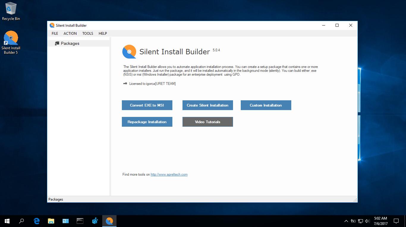 Silent Install Builder v5.0.4 Full + Portable Repack
