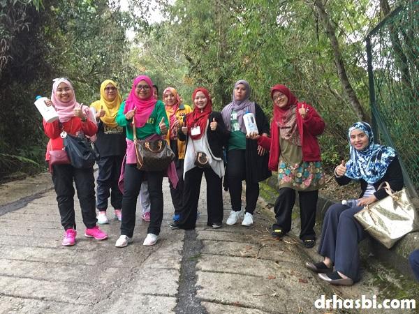 Team EziProject daki Gunung Brinchang Cameron