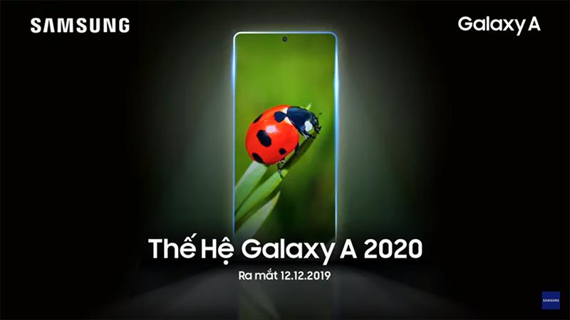 Samsung Vietnam teases Galaxy A 2020 series, launching on December 12!
