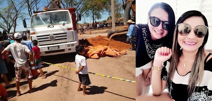 Trágico! Duas mataromenses morrem atropeladas por caminhão em Teresina PI
