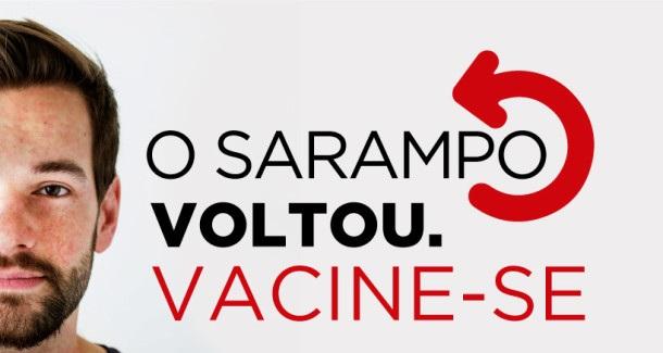 Resultado de imagem para Primeira etapa da Campanha de Vacinação contra Sarampo começa segunda-feira (10)