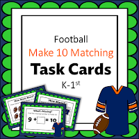 Football- Make 10 Matching