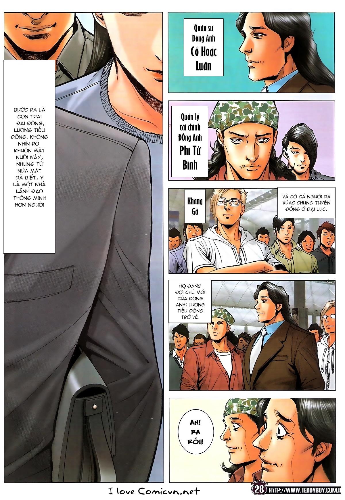 Người Trong Giang Hồ chapter 1724: tiểu đông trở về trang 26
