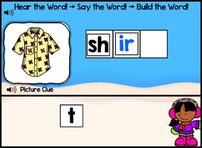 Letter Combination ir (Bossy r): Read It! Say It! Build It!