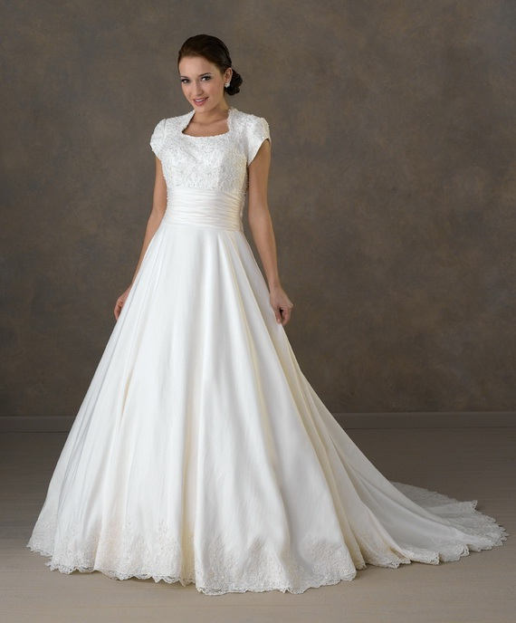 Wedding Gowns For The Mature Bride: Modest Wedding Dresses