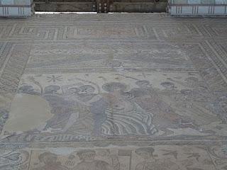 Cortejo de Baco. Villa romana de Santa Cruz