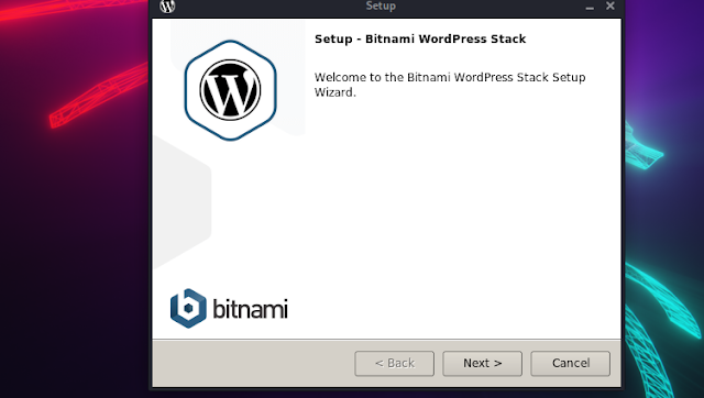 installing wordpress on Linux
