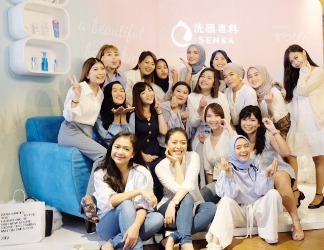 Senka Roadshow with Bandung Beauty Blogger
