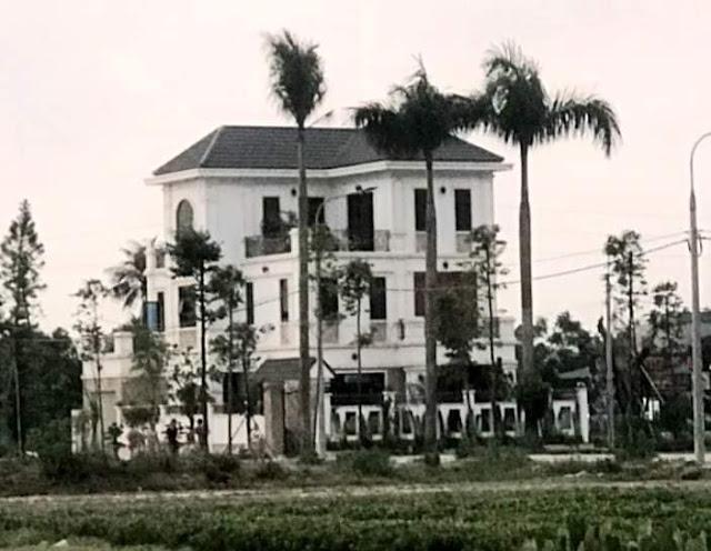 Biệt phủ khủng GĐ Trung tâm Phát triển quỹ đất huyện Tiền Hải - Thái Bình