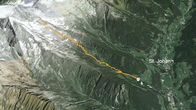 GPS Schwarzensteinhütte Rifugio Vittorio Veneto al Sasso Nero