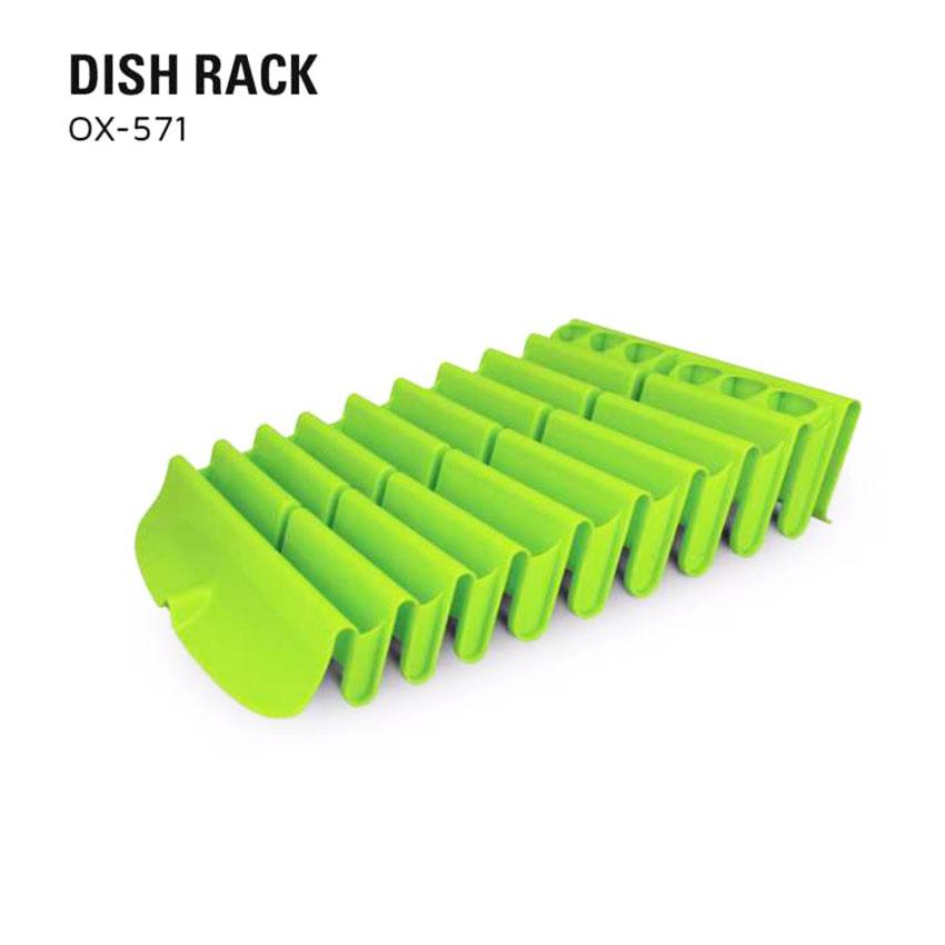 OX-571 Eco Dish Rack Oxone - Rak Gelas dan Piring Plastik