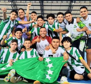 Risaralda campeón nacional en Fútbol de Salón Sub 15