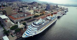Pier Mauá recebe mais de 21 mil turistas nos últimos dias de 2017