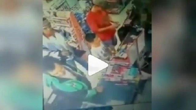 Viral Video Oknum Ojol Tampar Kasir Perempuan Minimarket