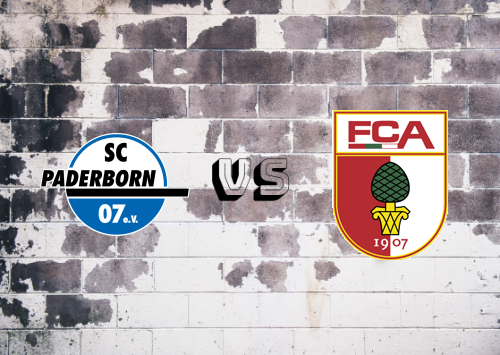 Paderborn vs Augsburg  Resumen